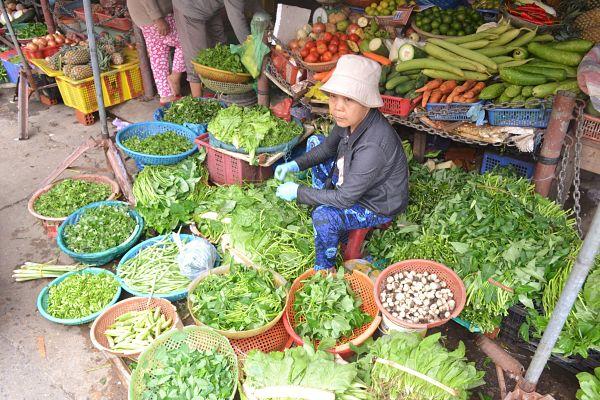 Central market, Hoi An, Vegetable