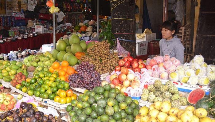 Central Market, Hoi An, fruits