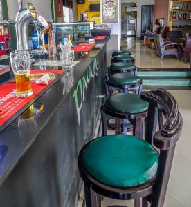 Paddy's Hostel and Bar, Hoi An, bar stools 2