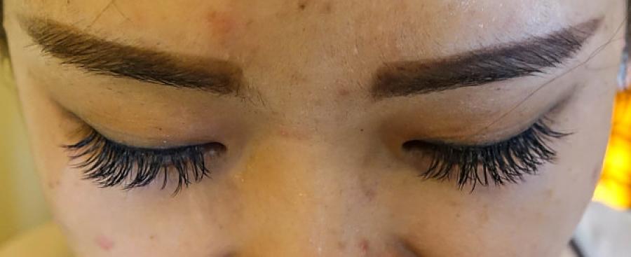 Eyelash extensions, magic spa, hoi an, vietnam