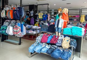 Children's cheap clothes, Da Nang, Vietnam
