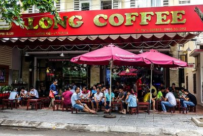 Long Coffee, Hoi An. Ca Phe Viet