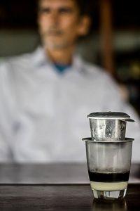 Vietnamese drip coffee. Ca Phe Viet