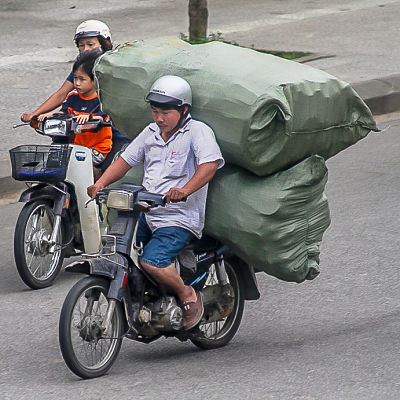 Hello Moto- propping himself up-_opt. Hoi An