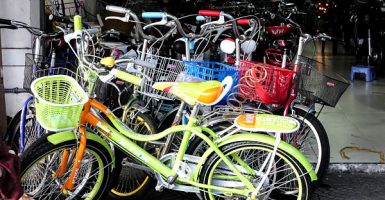 bicycles and electric bikes, buy in hoi an, Vietnam