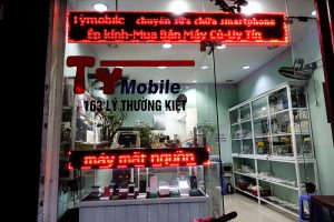Mobile phone repairs, hoi an, Vietnam