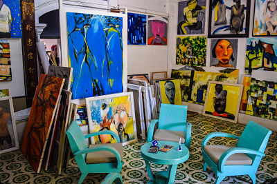 hoi an now travel guide to art gallery, hoi an