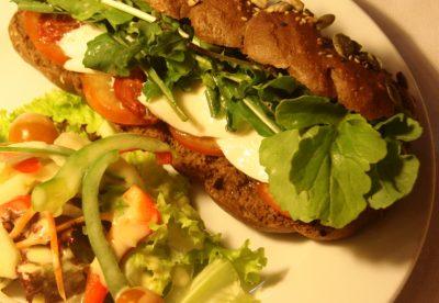 Cargo Cafe, Hoi An. Sandwich