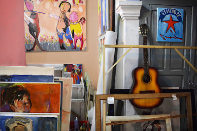 Co Gallery, Hoi An Galleries. Phan Thanh Minh Artist, Hoi An.
