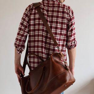Louis leather bag, Hoi An