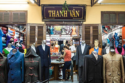 Thanh Van leather shop, Hoi An