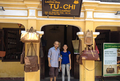 Tu Chi Real Leather Shop, Hoi An