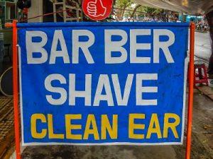 Thanh Barber Shop Sign