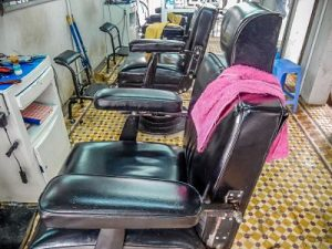 Chairs in Thanh Barber Shop