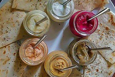 Mix Greek Restaurant review pita dips 2