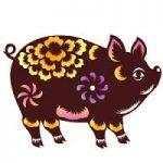 Vietnamese horoscope. pig