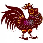Vietnamese horoscope. rooster