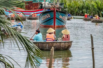 Escape to the Mystical Coconut Palms. Basket Boats 3