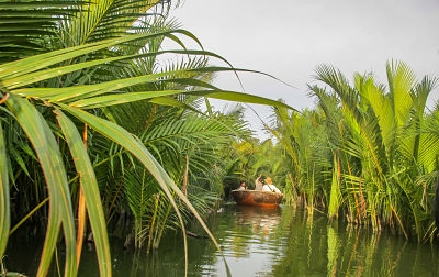 Escape to the Mystical Coconut Palms. Basket Boats 6