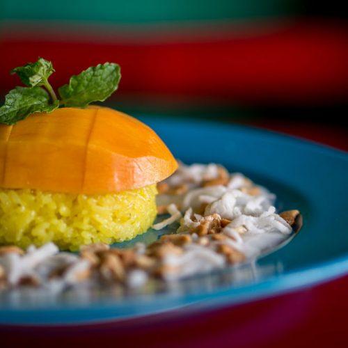 Mango Rooms. Mango Dish