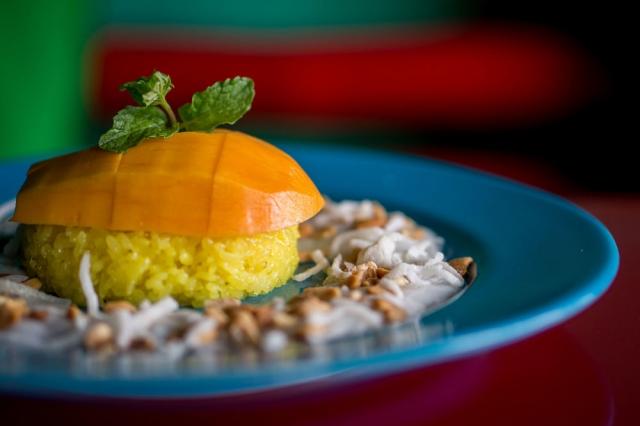 Mango Mango. Mango Dish