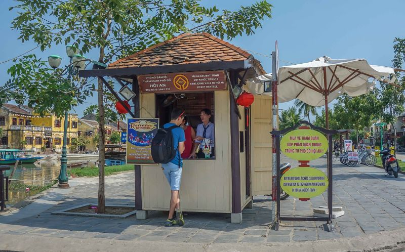 Hoi An Old Town ticket booth, Hoi An Now Travel Guide to Old Town