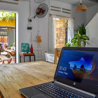 Digital Nomads, Rosie's Cafe, Workspace