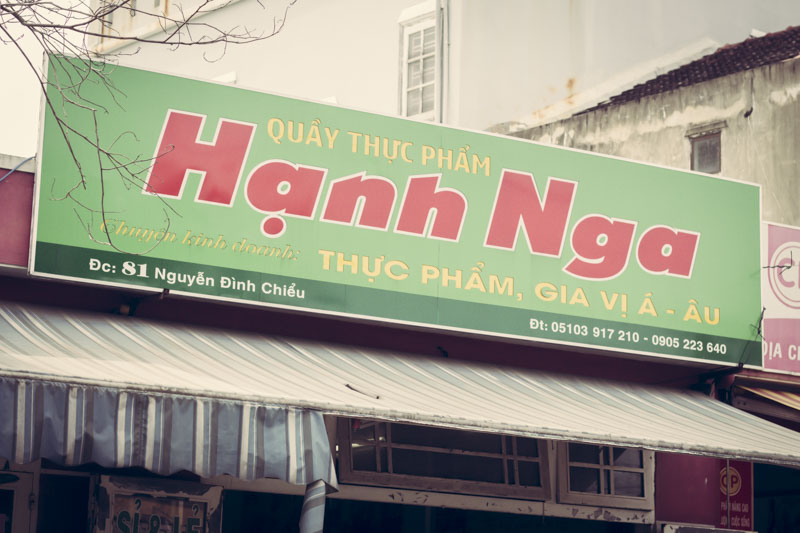 Hanh Nga Sign