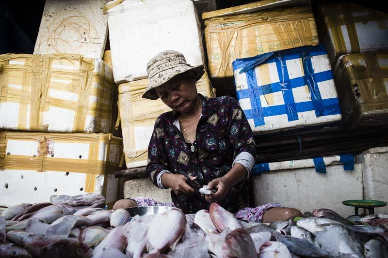 Alternative Hoi An Cycle Tour: Cua Dai Market