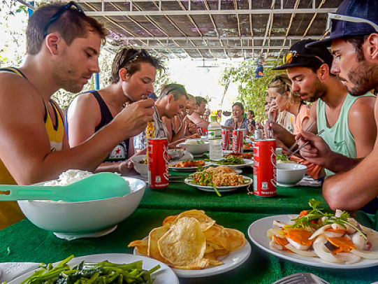Hoi An Diving Center Lunch