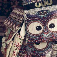 Cam Kim Owl Bags