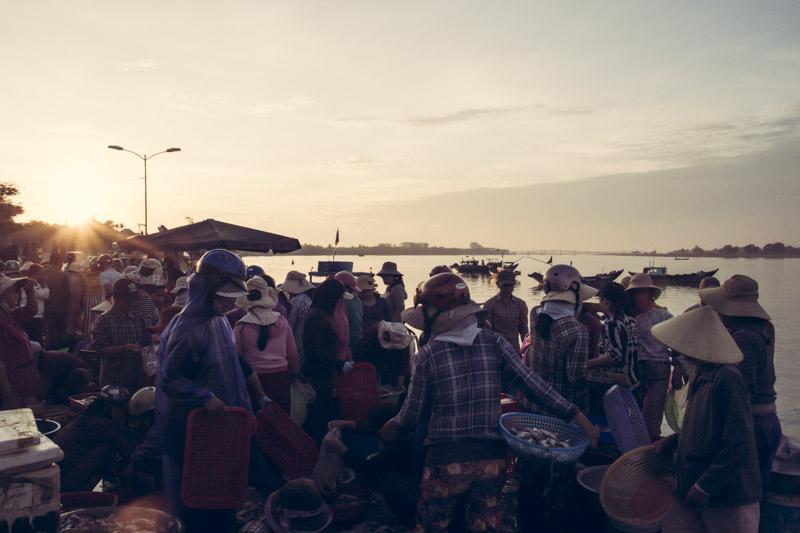 Hoi An Fish Market. Set Up