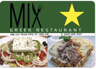 MIX Greek Restaurant