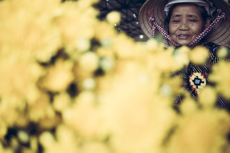 Noi Rang Market. Secret Market Flowers