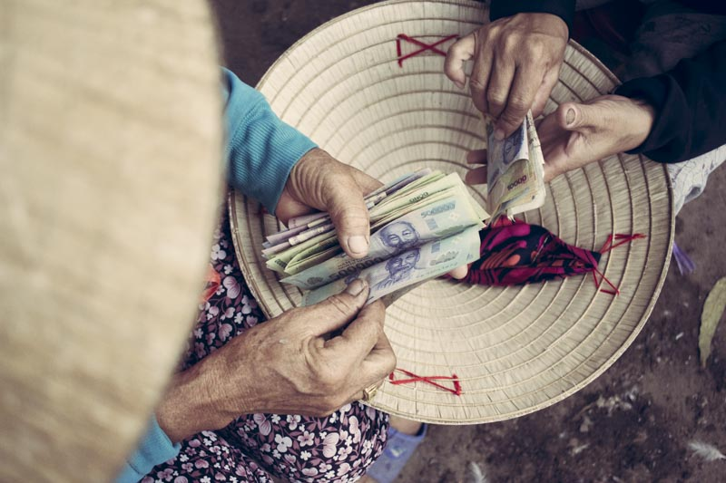 Noi Rang Market. Secret Market Money