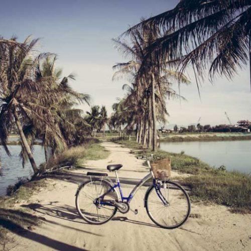 Cycling to An Bang Beach