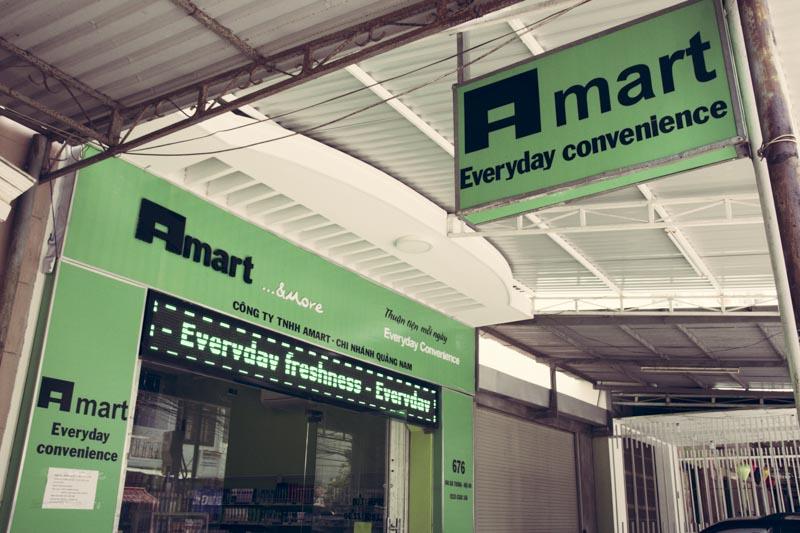 Convenience Stores Hoi An A Mart Exterior