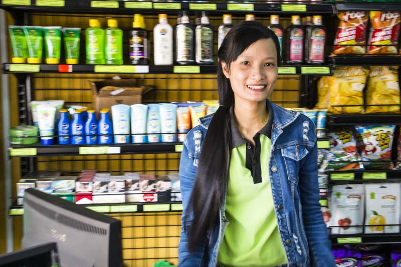 Convenience Stores Hoi An A Mart Lady