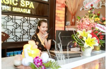 The Magic Spa, Hoi An, Receptionist
