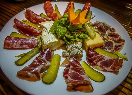 Belleville Restaurant & Lounge. salami 8