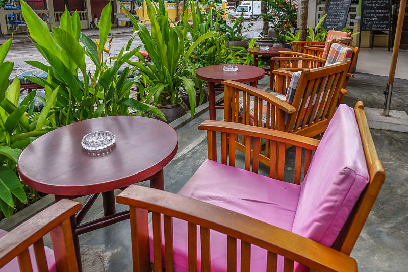 Belleville Restaurant & Lounge. Outside seating, Hoi An Restaurant