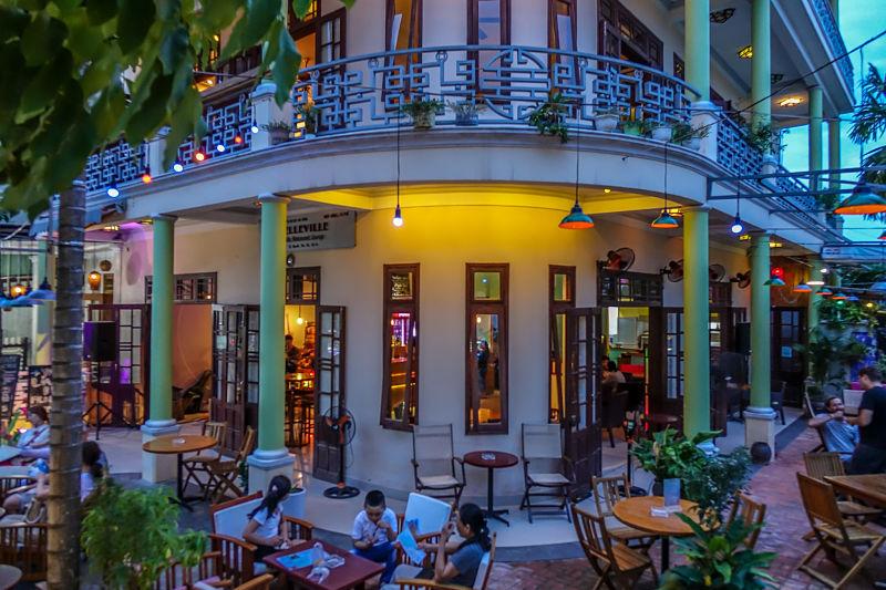 Belleville Restaurant & Lounge. External