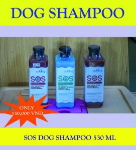 Nguyen Thanh Quang Pet Shop Promotion. SOS Dog Shampoo