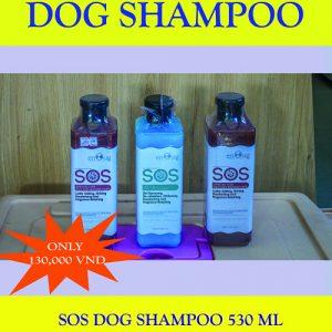 Nguyen Thanh Quang Pet Shop Promotion. SOS Dog Shampoo