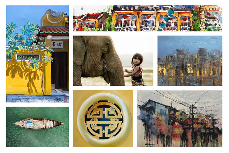 Quick Guide to Galleries Hoi An Collage