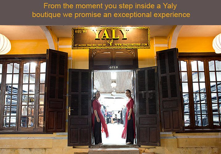 Yaly Couture, Hoi An Tailor, Opening Image