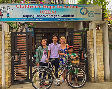 Children's Hope In Action: Bike donation