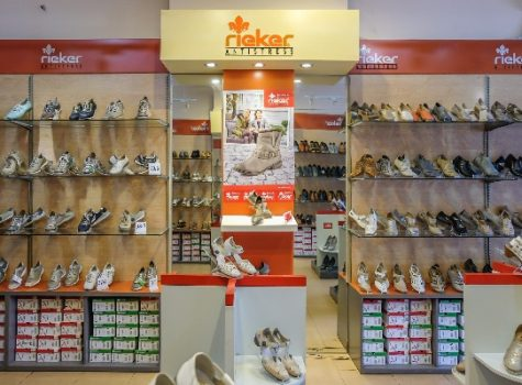 Shoes, reiker, store, display