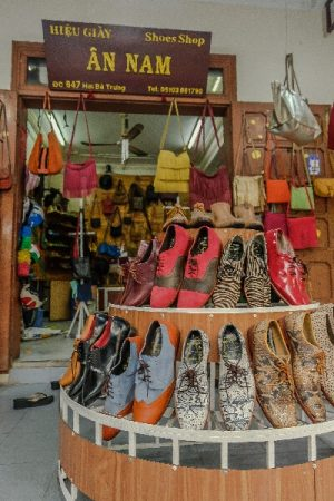 Shoes, annam, an nam, store, display, leather, handmade shoes