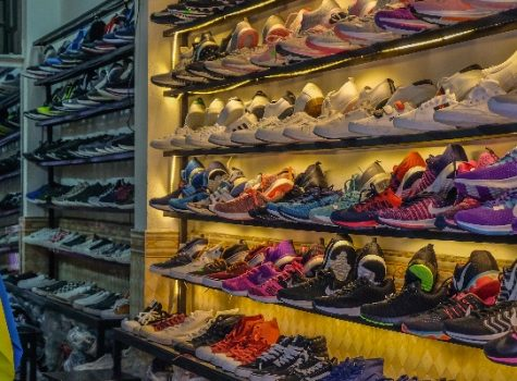 Shoes, freestyle, store